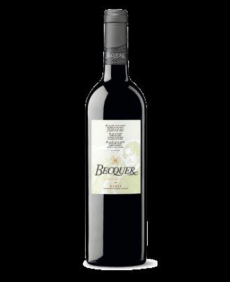 Vino tinto Becquer Crianza Ecológico DOCa Rioja de Bodegas Vinsacro