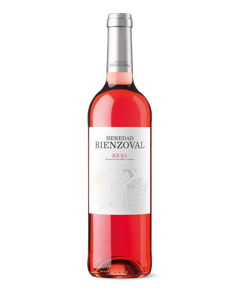 Vino rosado Heredad Bienzoval DOCa Rioja de Bodegas Vinsacro