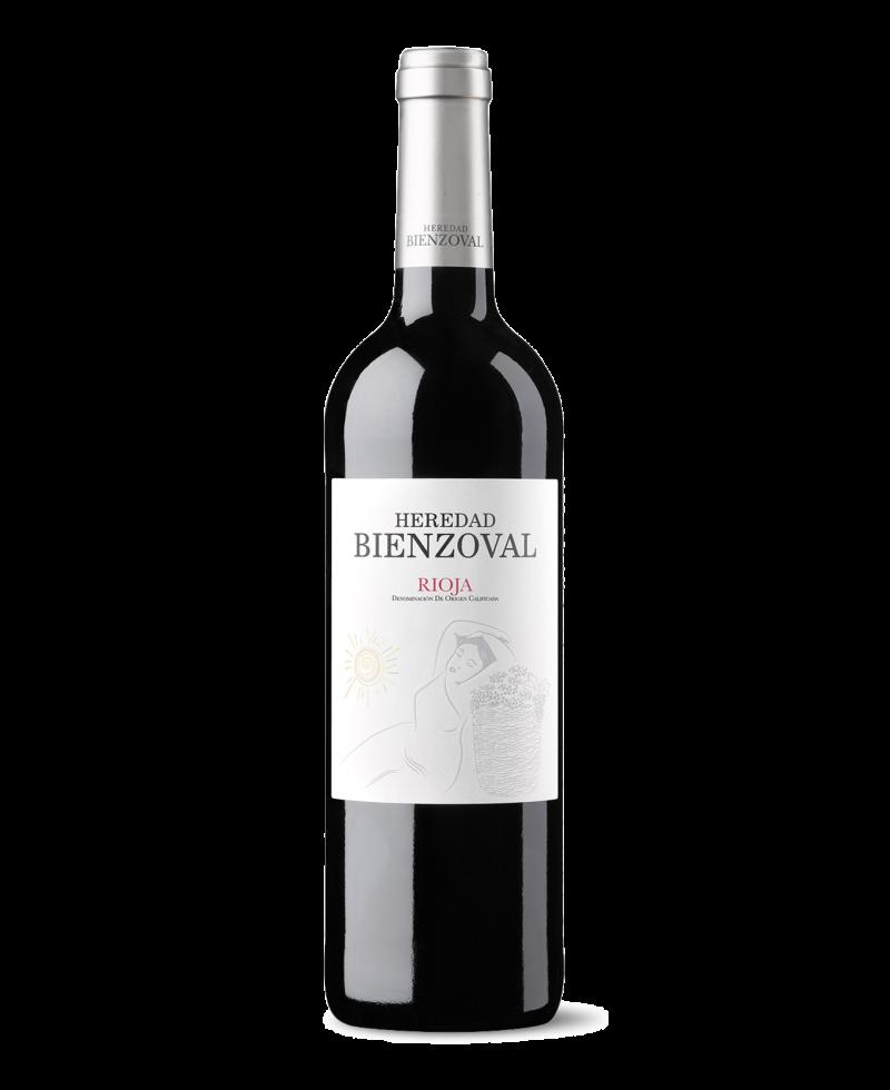 Vino tinto Heredad Bienzoval DOCa Rioja de Bodegas Vinsacro