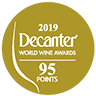 95 points, Decanter 2019